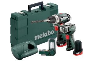 Powermaxx BS Basic Set Wiertarko-wkrętarka Metabo